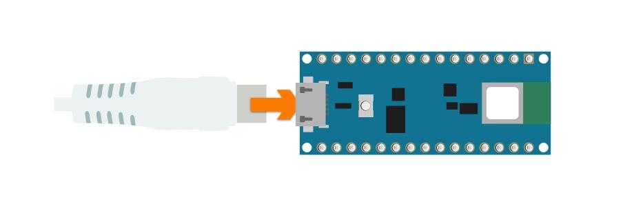 arduino 33 BLE sense USB