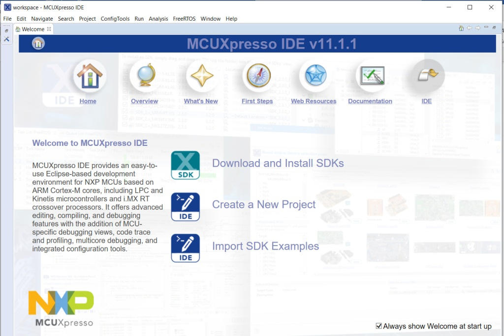 MCUXpresso-IDE