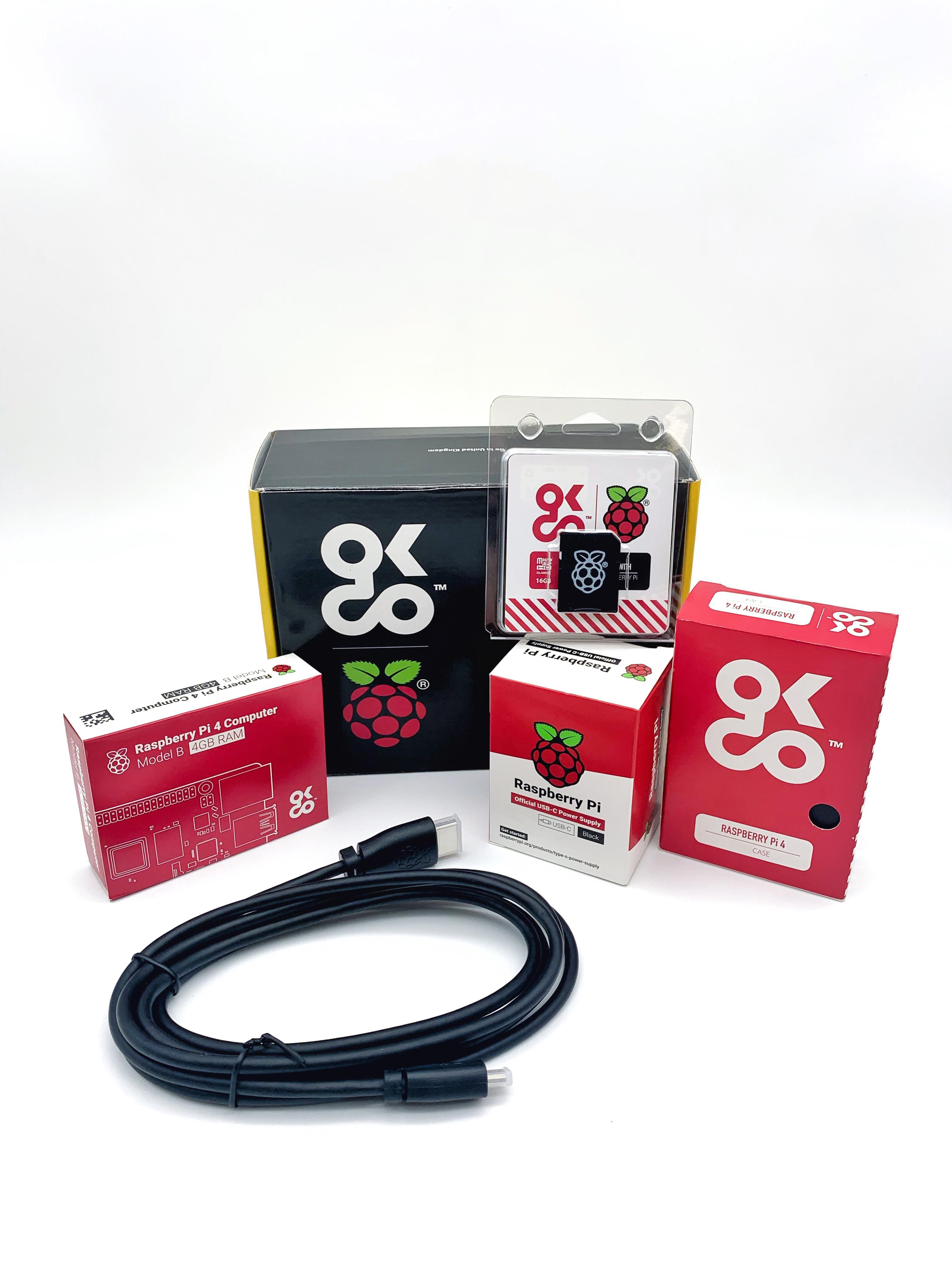 Raspberry Pi 4 4Gb Basic Kit EU Version