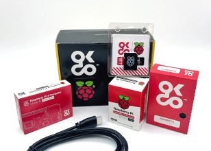 Raspberry Pi 4 4GB Essential Starter Kit US Version