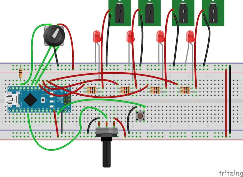 arduino cv clock
