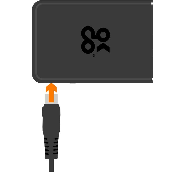 connect power to webthings gateway kit