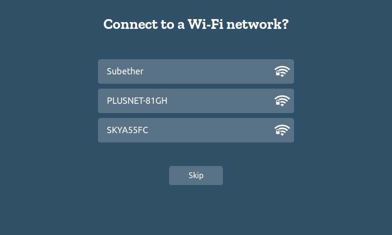 get started with WebThings Gateway Kit hifi connection