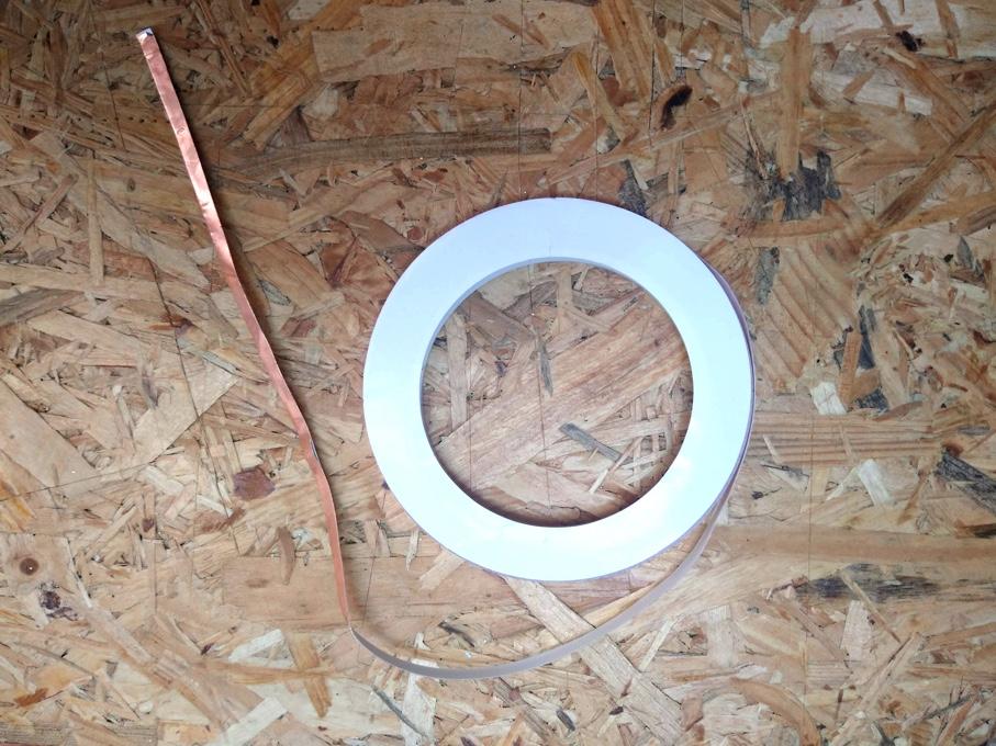 bare conductive copper tape