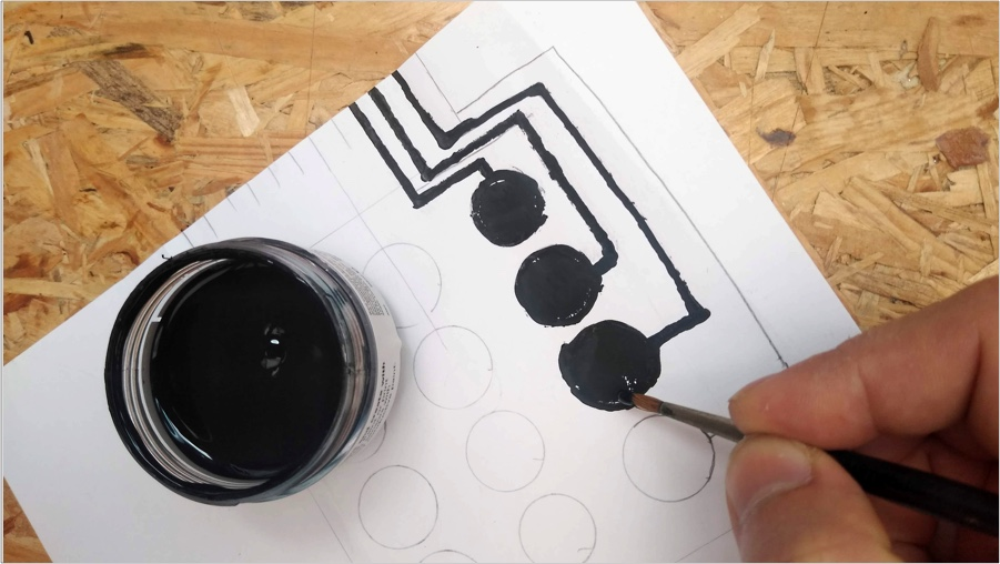 electric paint application
