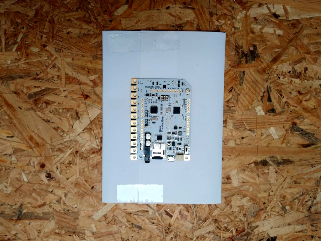 trace touch board
