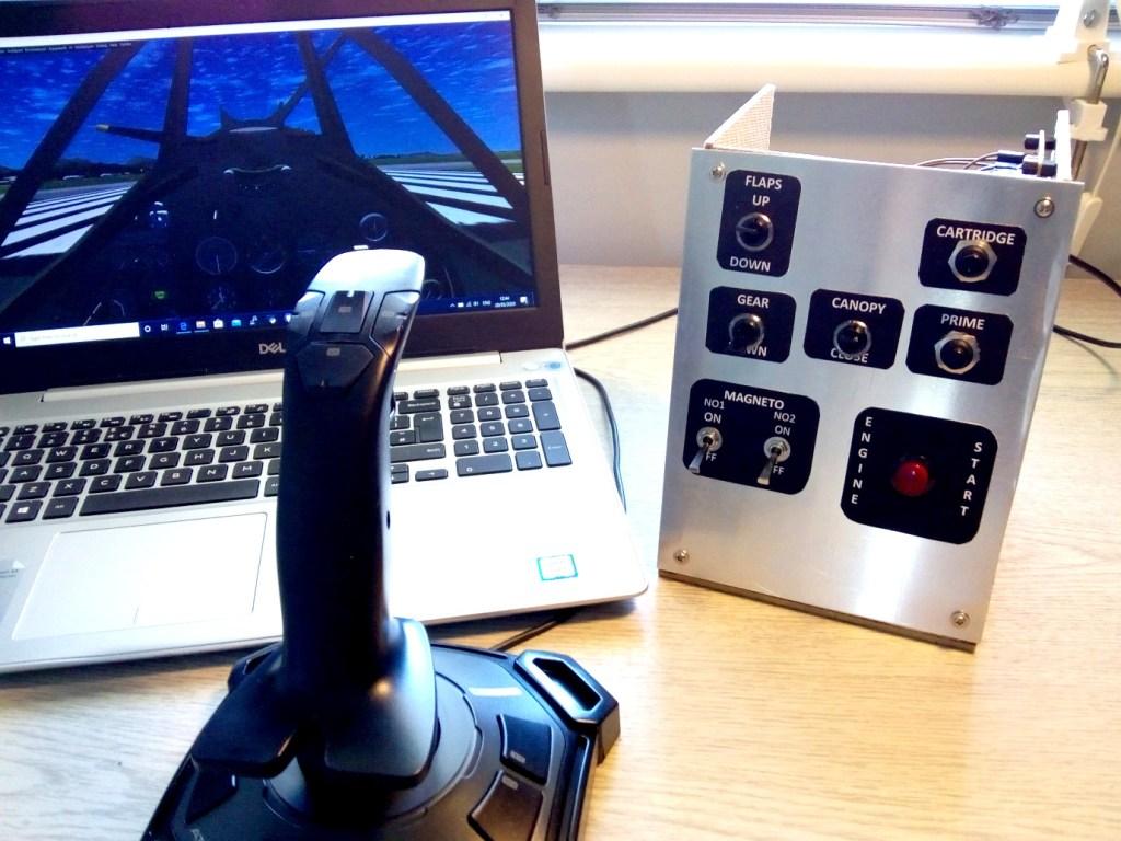 arduino-spitfire-game-controller