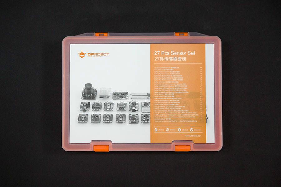 Gravity: 27 Piece Sensor Kit for Arduino