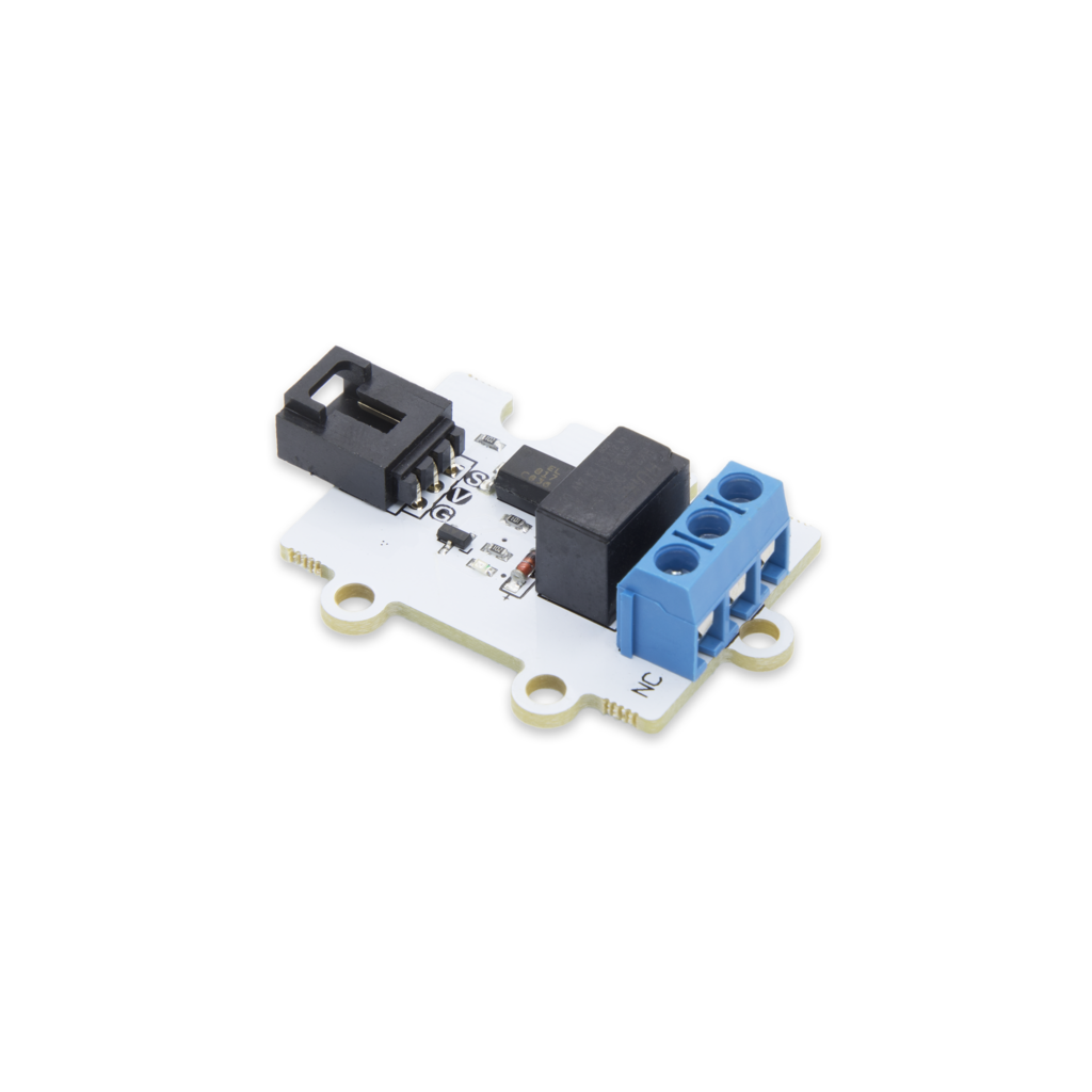Pi Supply 1 Channel Relay 3V Relay Module for micro:bit