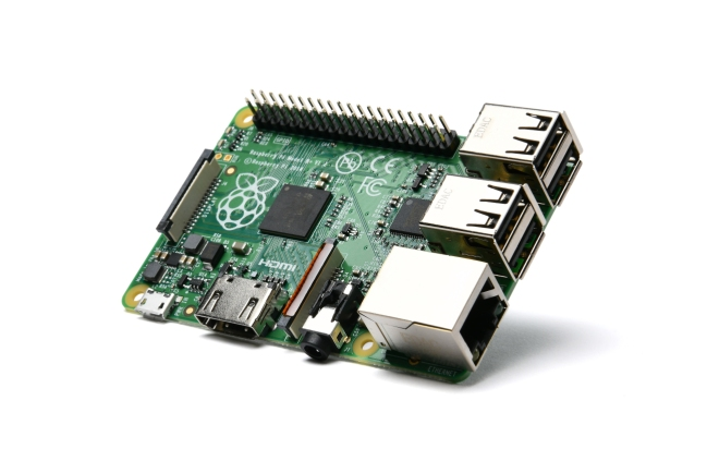 A product image for Raspberry Pi 1 Model B+