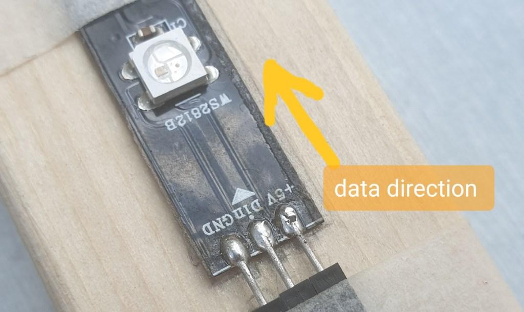 led data direction
