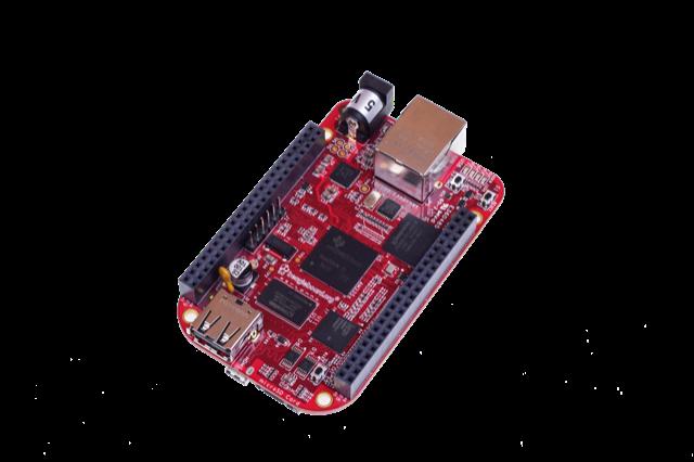 A product image for BeagleBone Black Industrial
