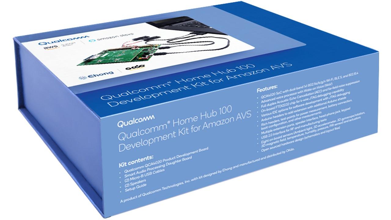 Qualcomm Home Hub 100 Development Kit for Amazon AVS