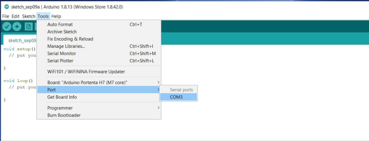 select com 3 port