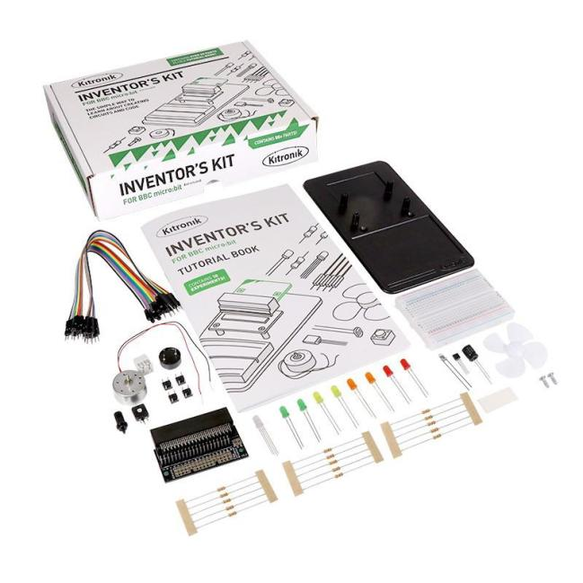 A product image for Kitronik Inventors Kit for the BBC micro:bit