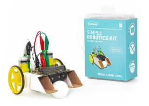 Kitronik Simple Robotics Kit for the BBC micro:bit - Single Pack