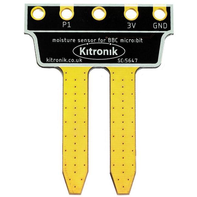 A product image for Kitronik Prong Soil Moisture Sensor for BBC micro:bit