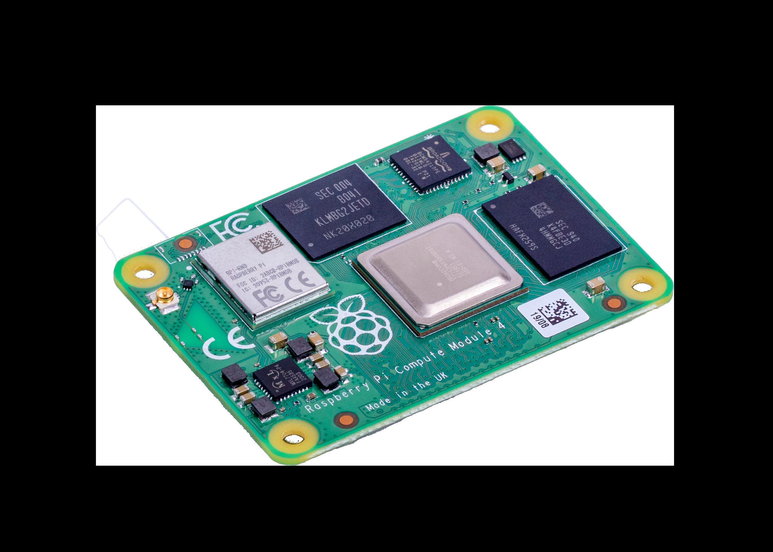 Raspberry Pi Compute Module 4 with WiFi 2GB RAM 16GB Flash
