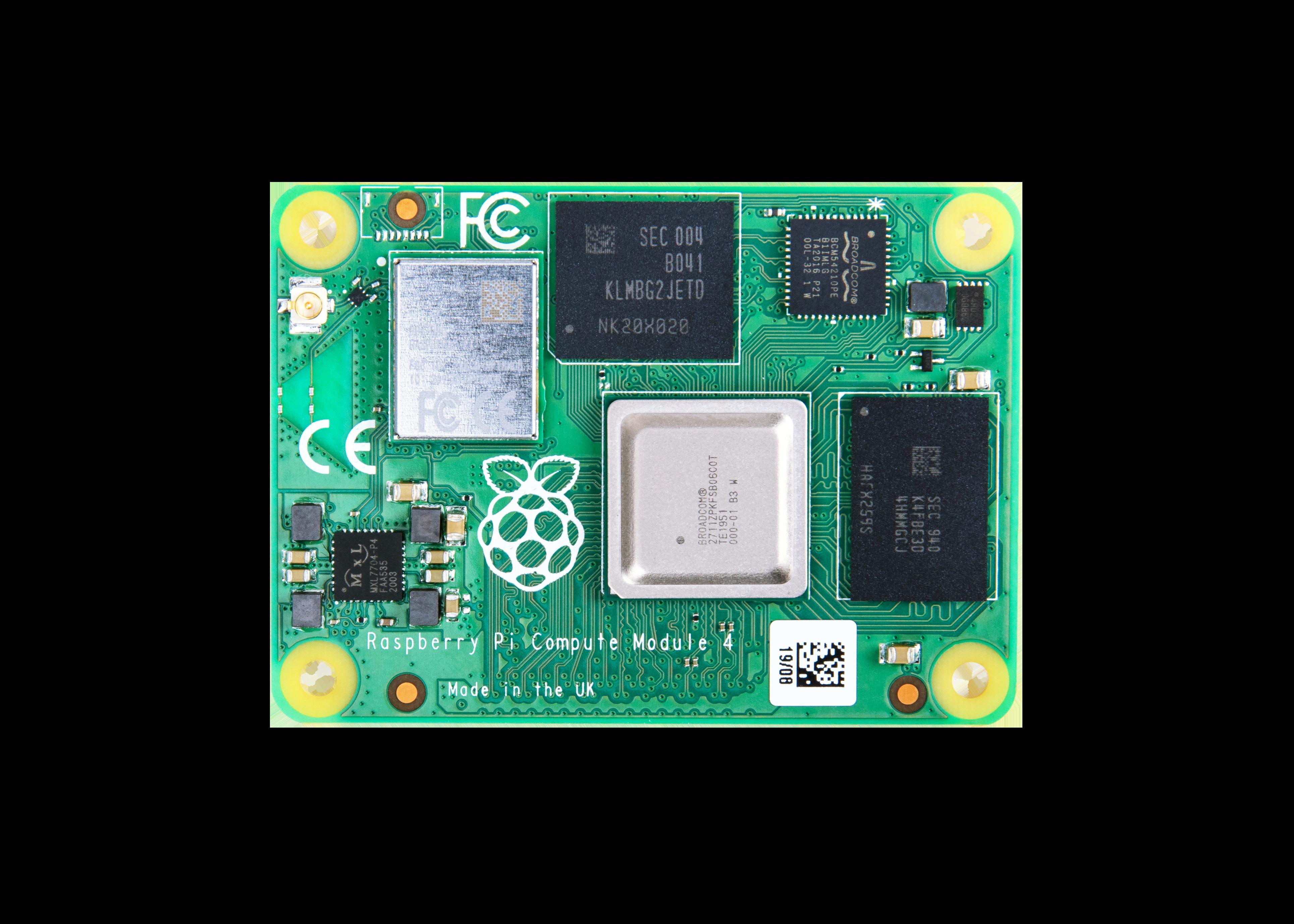 Raspberry Pi Compute Module 4 with WiFi 8GB RAM 32GB Flash