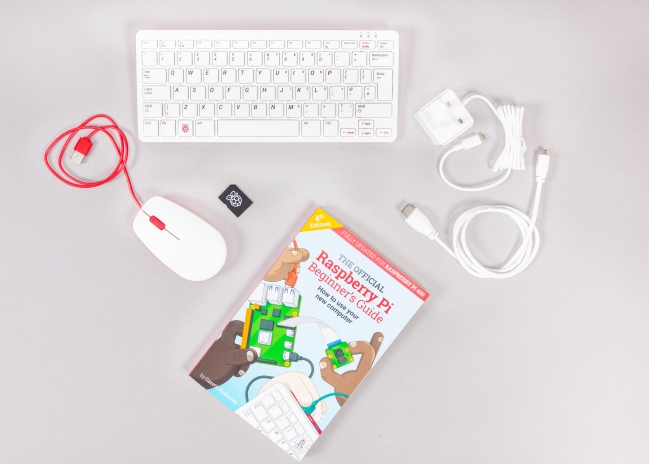 A product image for Raspberry Pi 400 All-in-One Personal Computer Kit – UK Keyboard Layout
