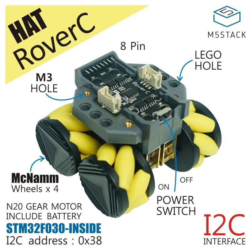 RoverC (W/O M5StickC)