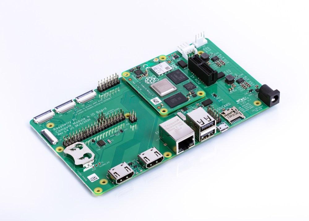 Raspberry Pi CM4 IO Board