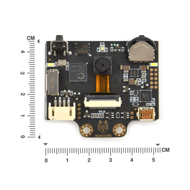 A product image for Gravity: HUSKYLENS – An Easy-to-use AI Vision Sensor