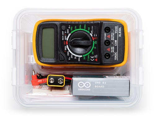 A product image for Arduino Student Kit – English