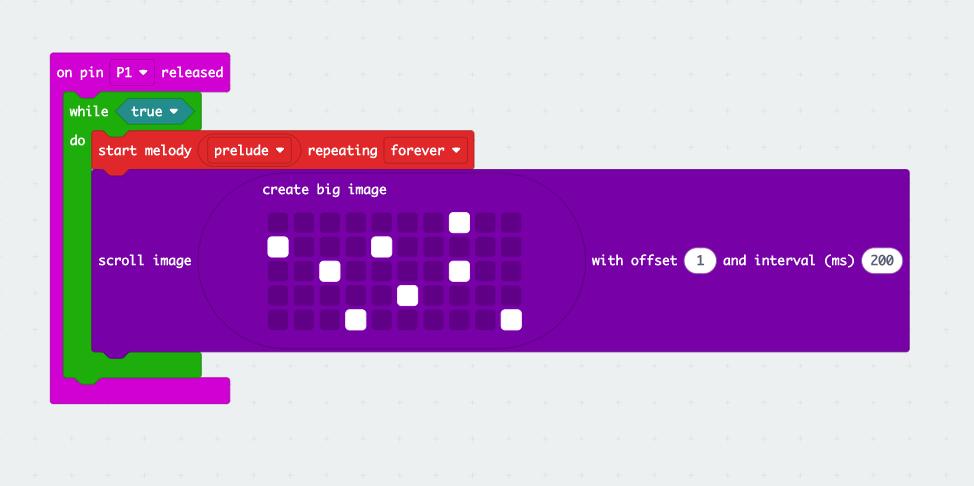 microbit musical cracker code