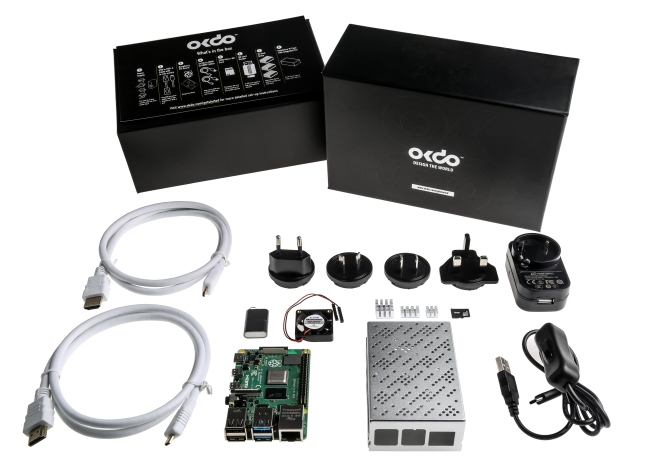A product image for OKdo Raspberry Pi 4 8Gb Model B Starter Kit