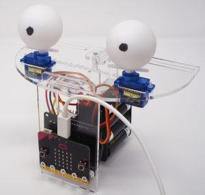 Animatronic head kit for micro:bit