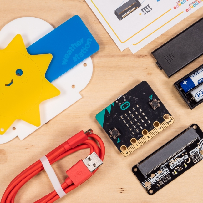 A product image for Enviro:bit Weather Station Kit for micro:bit