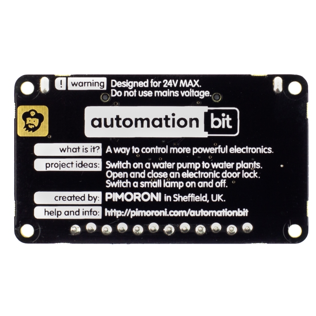 A product image for AUTOMATION:BIT, CONTROL AND MOTION BOARD