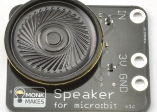 Monkmakes Speaker for micro:bit