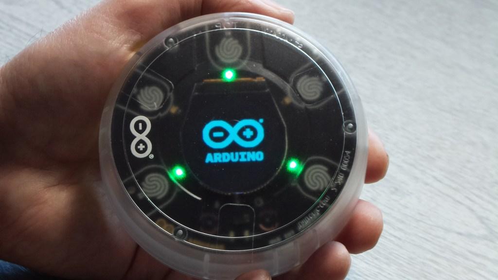 opla displaying arduino logo