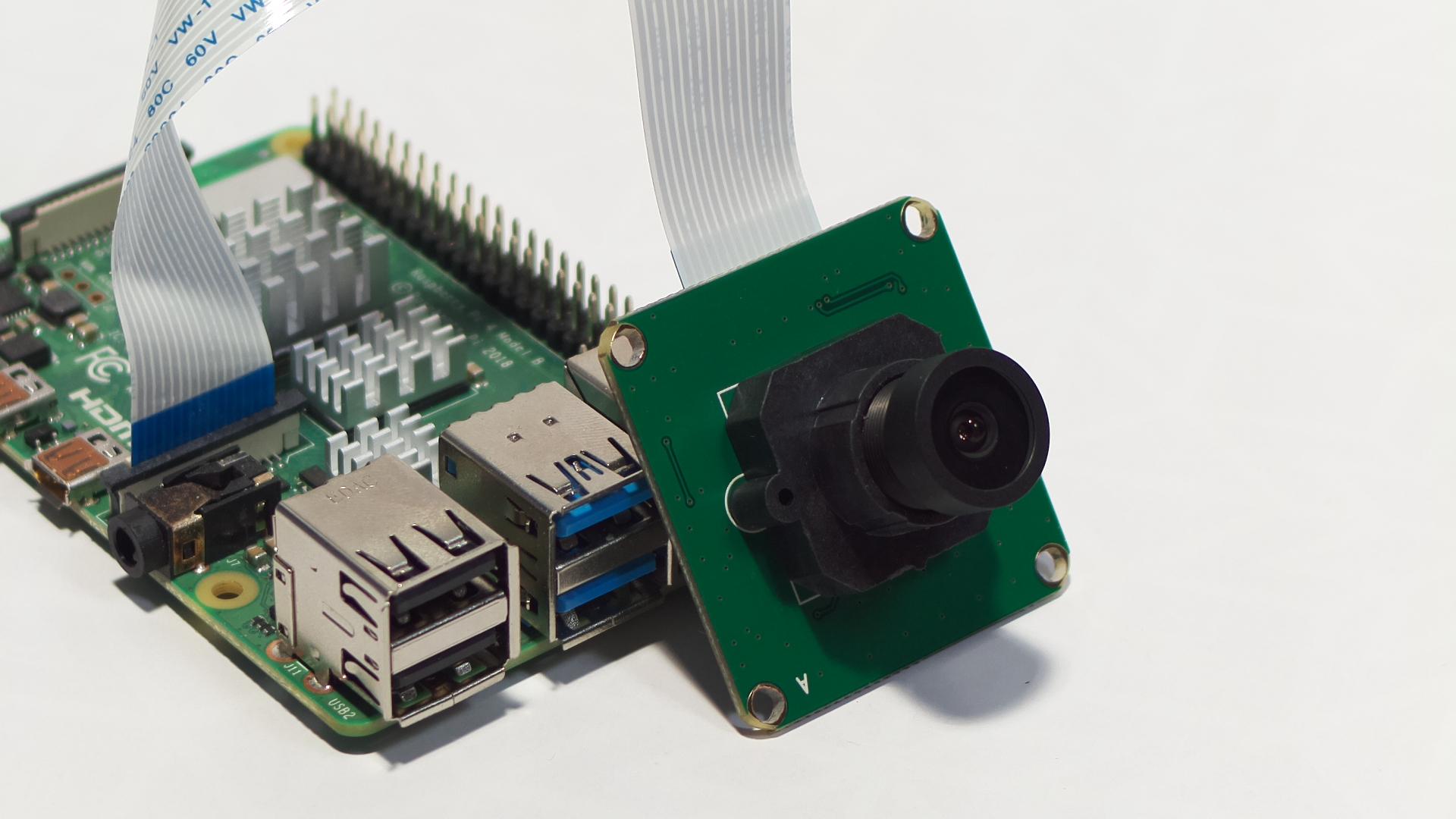 Raspberry Pi 4b 5MP camera attachment