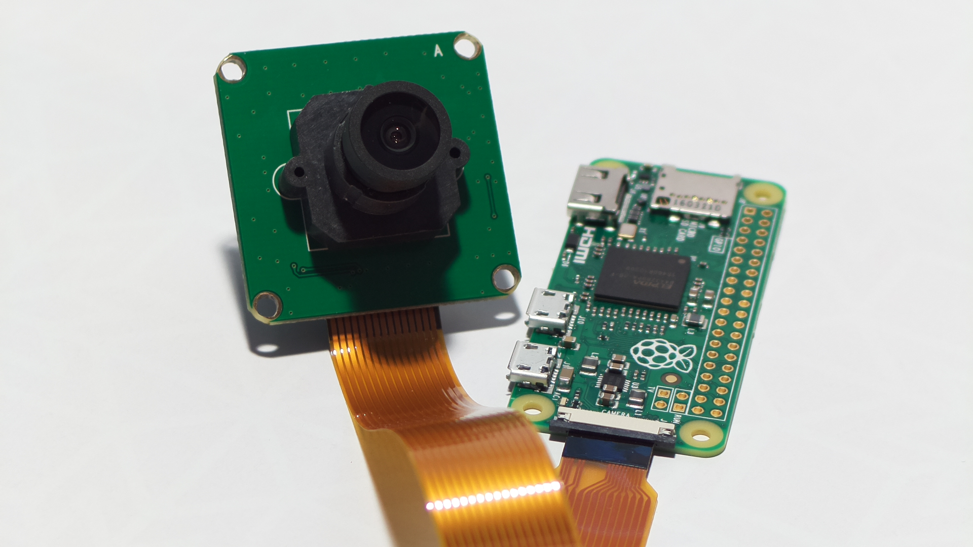 Raspberry Pi Zero 5MP camera attachment