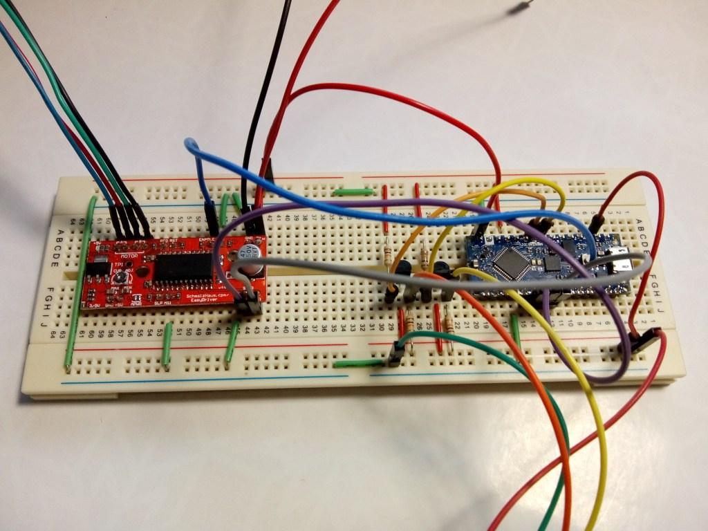 easydriver arduino nano circuit