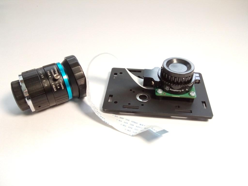 raspberry pi high quality camera mount