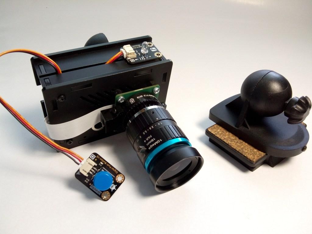 assembled raspberry pi high quality camera
