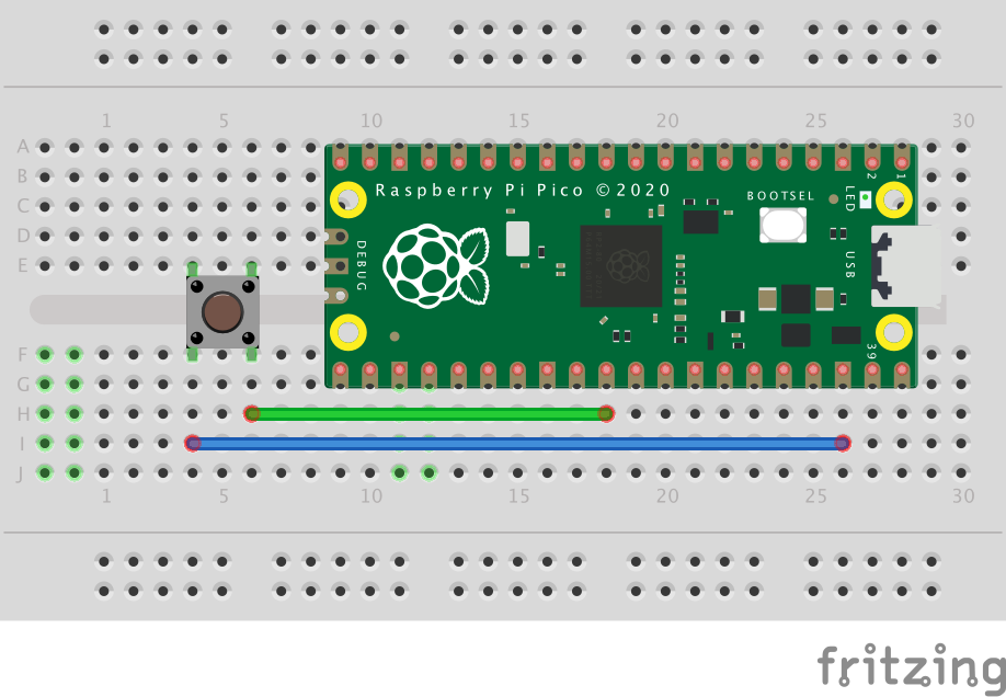 raspberry pi pico reset button