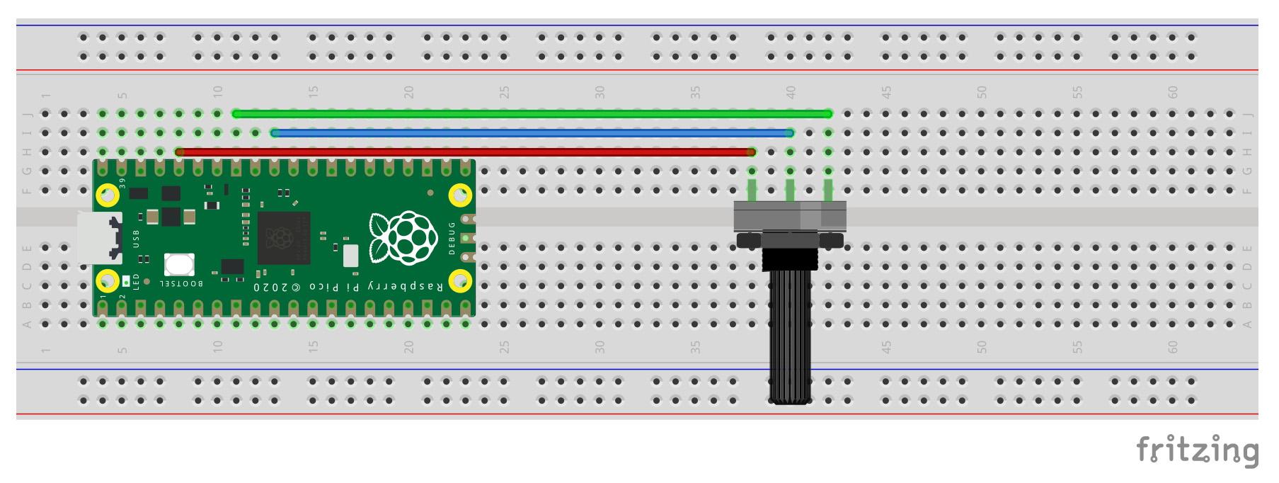 Get Started with Raspberry Pi Pico GPIO & MicroPython circuit