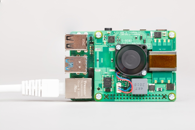 A product image for Raspberry Pi POE + Hat