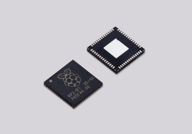 A product image for Raspberry Pi RP2040 Microcontroller (Pack of 10)
