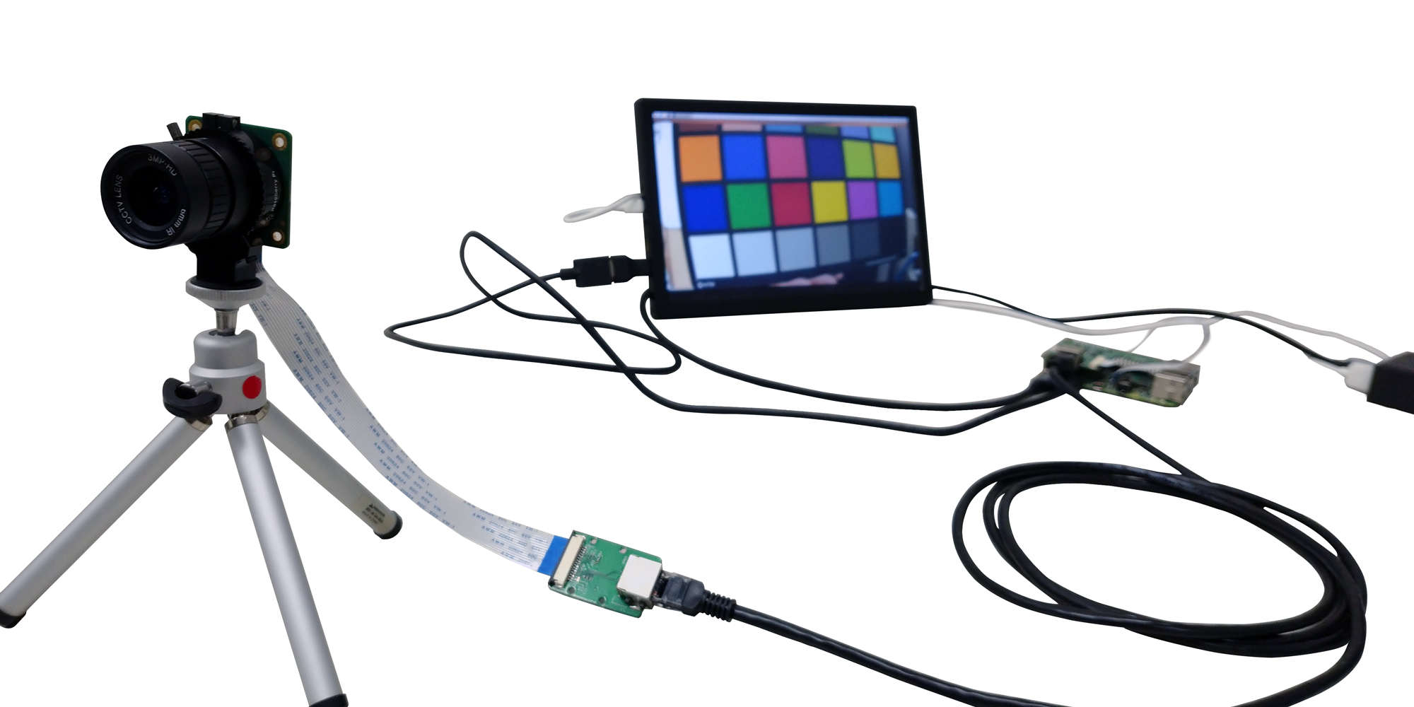 Cable Extension Kit for Raspberry Pi Camera