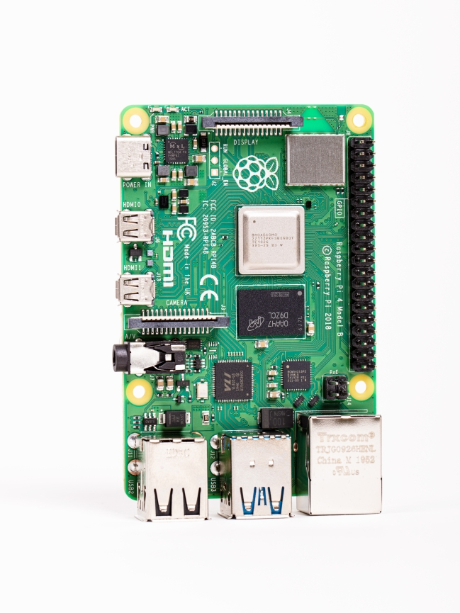 A product image for Raspberry Pi 4 4gb with Sense Hat