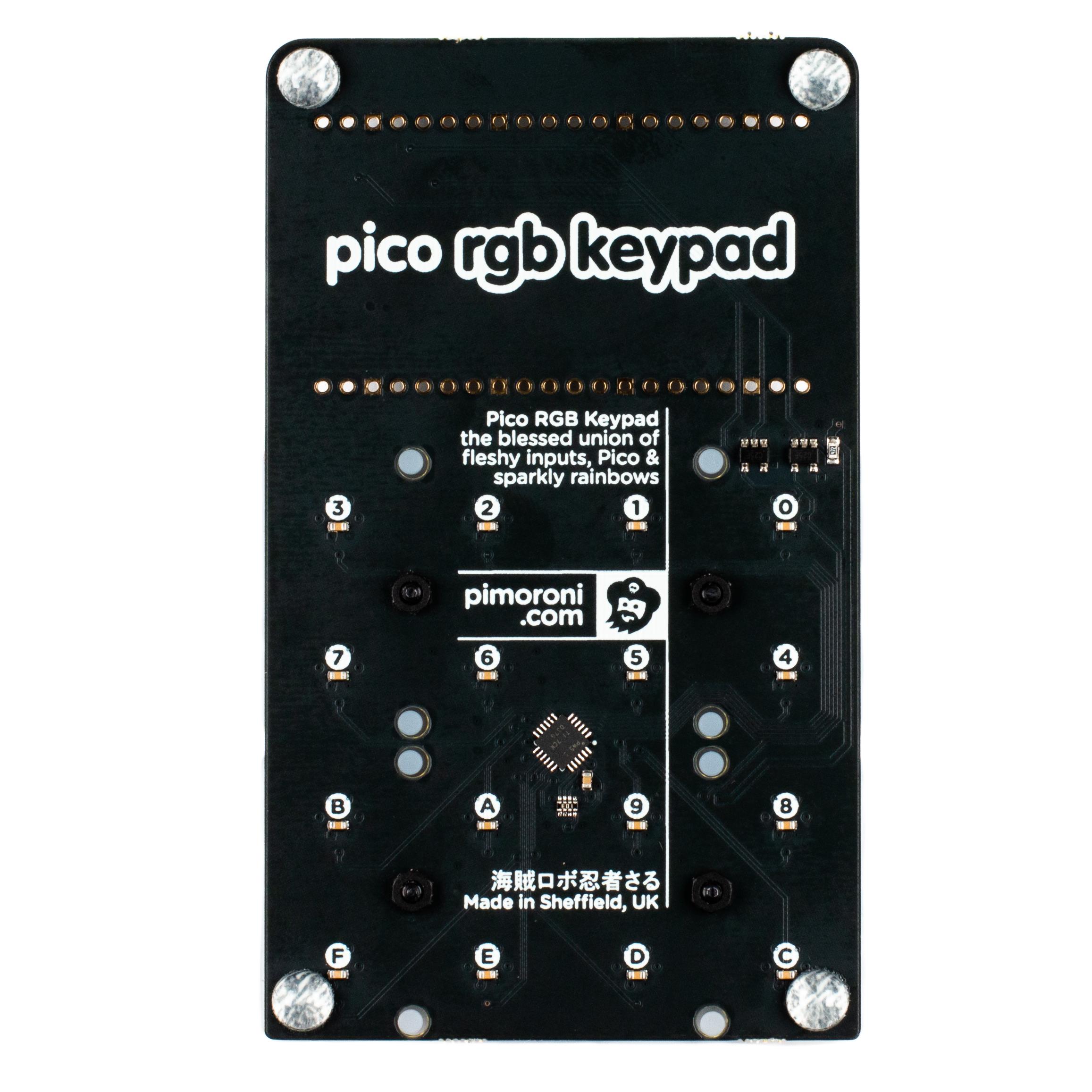 Pimoroni Pico RGB Keypad Base