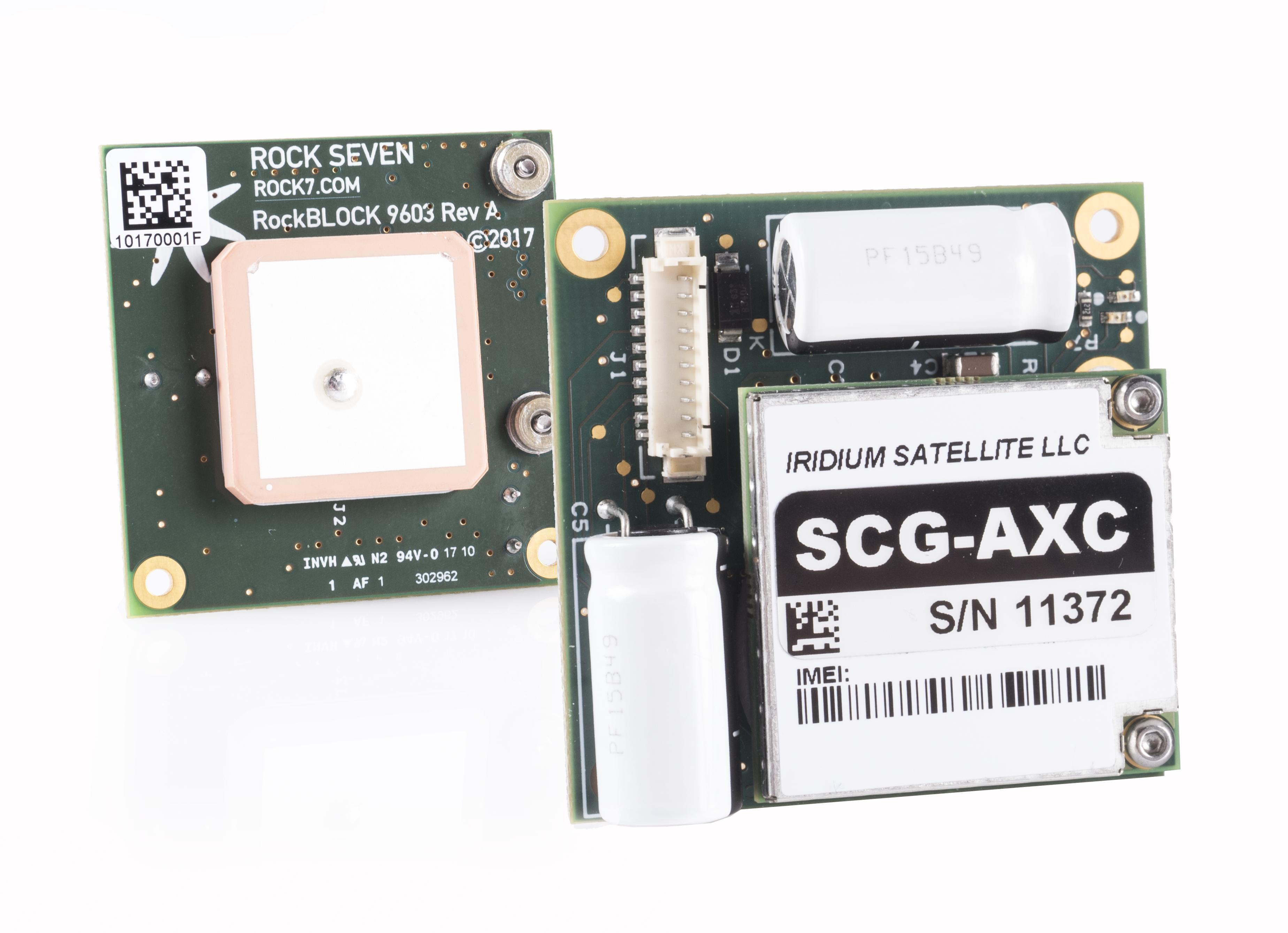 RockBlock 9603 2 way satelite communication device