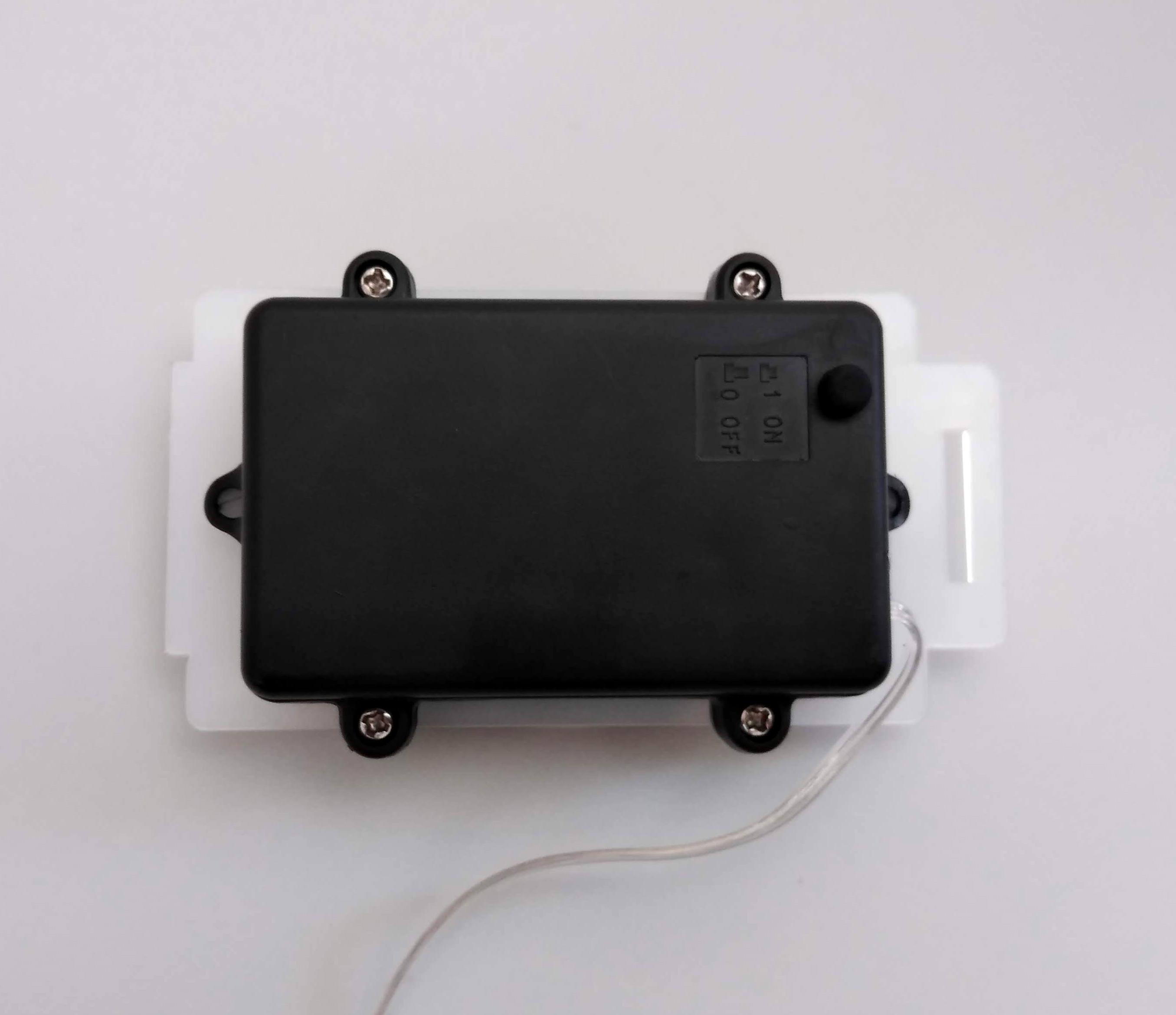 animatronic battery box assembled