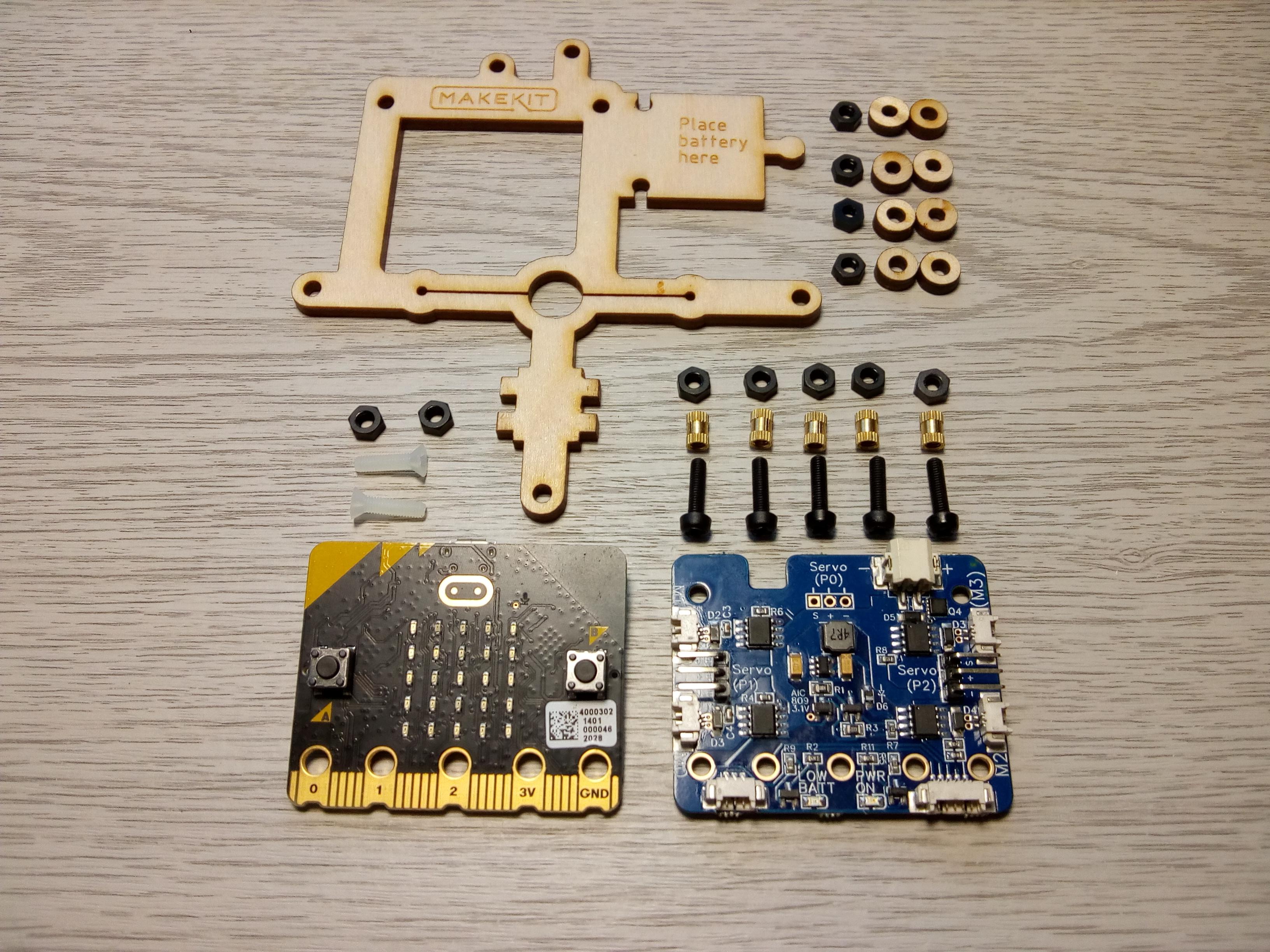 hover:bit controller parts